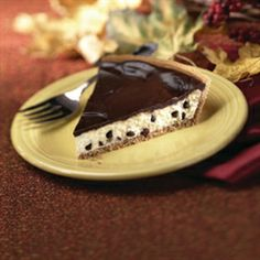 Chocolate Chip Cheesecake Keebler Crust