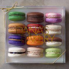 Dana's Bakery, Assorted Macaron Collection, Set of 12 #williamssonoma