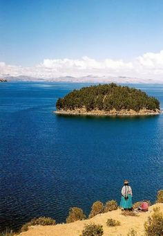 Lake Titicaca,Bolivia: