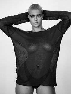 Bald and Badass (Stefania Ferrario)