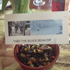 Take the Black Bean Dip