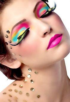 eye makeup, exotic makeup, eyelash extensions, makeup tips, makeup ideas