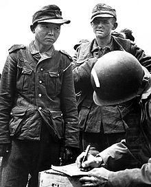 This would be HILARIOUS if it weren't so awful. Yang Kyoungjong was a Korean. In 1938, the Japanese made him fight in their army against the Soviets. Then the Soviets caught him, and made him serve in THEIR army against the Nazis. Then the NAZI's caught him and made him fight the Allies. THEN...the US caught him and thought he was Japanese, put him in a POW camp. When released, he emigrated to the US and lived in Illinois untill 1992.