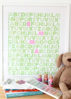 ABC GIRLS (highlight monogram!)
