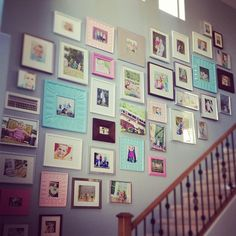 Photo by maggiehdesign. Picture wall!