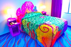 Little Mermaid bedroom!