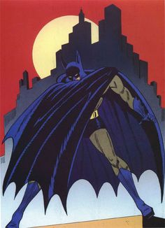 The Bat-Man --art by possibly one of Bob Kane's ghost artists.