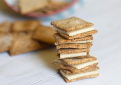 Homemade Wheat Thins | The Baker Chick