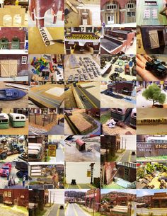 Meet Dave. He created his own model town - DaveTown.