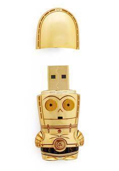 USB Flash Drive in C-3PO