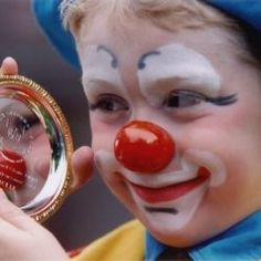 Guidelines in Doing Clown Face Painting Designs #circus #party