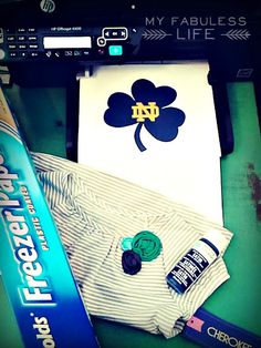 My Fabuless Life: DIY Screen Printing  @Casie Bucci thought of you when I saw this!