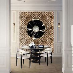 Exotic dining room d