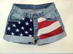 I have this inexplicable need for some sort of hill-billy American flag clothing