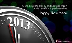 New Year 2013 Quotes Cards.....