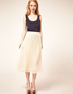7 favorite pleated skirts for spring