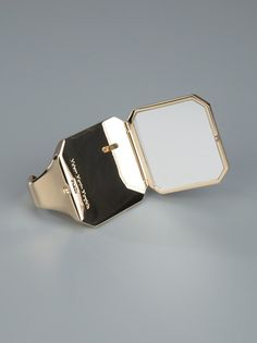 MAISON MARTIN MARGIELA - pocket mirror ring