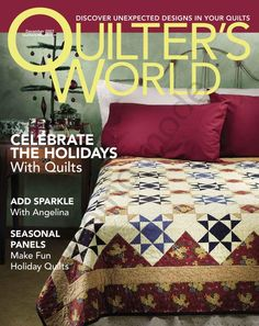 Quilter's World - 12/2007  disponible en   https://picasaweb.google.com/111014895045247802483/QuilterSWorld#