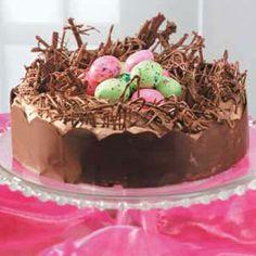 Easter Nest Torte Recipe from Taste of Home