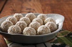 Decadent Ferrero Raffaello coconut almond truffles