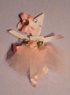 Angelina Ballerina Ribbon Sculpture Hair