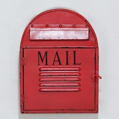 One of my favorite discoveries at WorldMarket.com: Mailbox Wall Décor