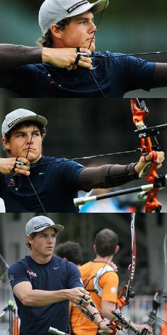 Us archer Jake Kaminski... god, I love the Olympics #damnfine