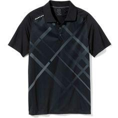 Oakley Golf Slayer Polo Golf Shirt Jet Black