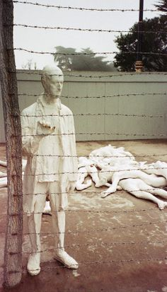 #HolocaustRemembranceDay brought back #memories of my visit to the #HolocaustMemorial at the #LegionofHonor in #SanFrancisco. #TBT  This #white #painted #bronze #sculpture was created by the #artist #GeorgeSegal which was dedicated on November 7, 1984.  These are some of the #photos I had taken at the time with an #instant #film #camera, so they are not the greatest resolution.  (click image to read more)