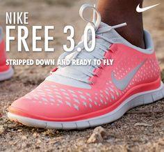 These are soooo comfortable to run in. NIKE FREE 3.0  @Nike Running