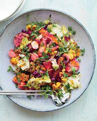 Vegetable Rainbow Salad Recipe on Food & Wine