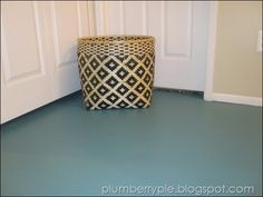 decor, painting subfloor, paint subfloor, fantast floor, teal paint, hallway, painted subfloor, pie, painted floors