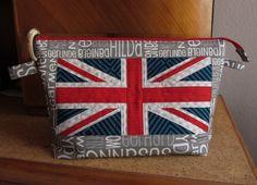 Union Jack Paper Piecing Pattern