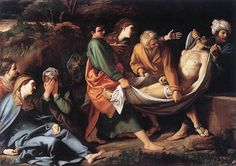 The Entombment of Christ by Sisto Badalocchio, Galleria Borghese, Rome. This Galleria Borghese is one of the greatest museums in the world and is a must-see on your trip to Rome.