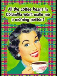 Need more coffee!