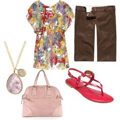 Cute summer outfit for work!