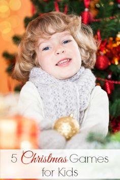5 Christmas Games for Kids