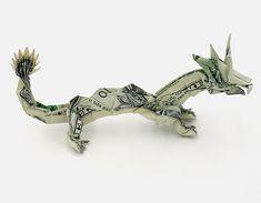 Amazing one dollar bill origami!