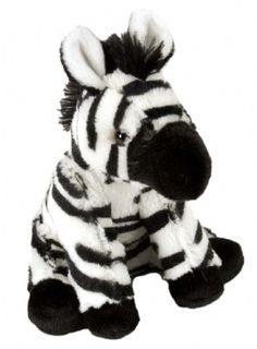 Cuddlekins Mini Zebra Baby (8-inch) at theBIGzoo.com, an animal-themed store established in August 2000.