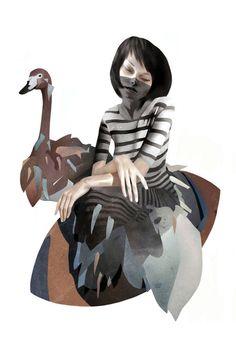 Artist illustrator Ruben Ireland illustrations