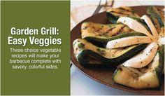 Garden Grill: Easy Veggies Recipe Collection