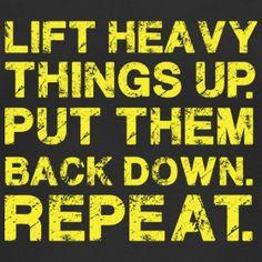 fit, strength training, strengthtrain, inspir, daily motivation, repeat, health, daili motiv, lift heavi