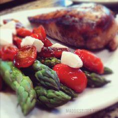 Maggies Bites - Balsamic Chicken & Asparagus
