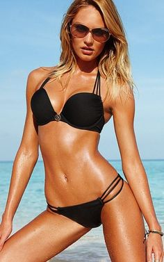 I love black bathing suits too :)