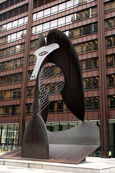 Picasso sculpture, Chicago