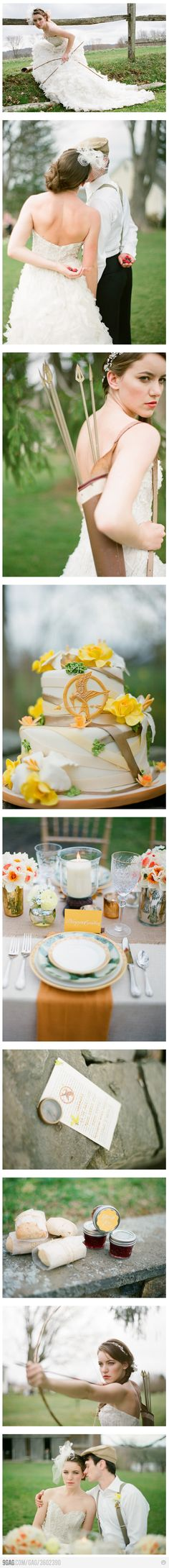 Hunger Games Wedding; this is just to much