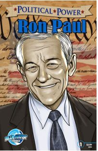 Bluewater Productions to publish Ron Paul Comic Book