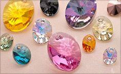Shop Swarovski Elements Crystal Pendants at FusionBeads.com