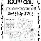 Four measurement activities to use on the 100th day of school!...