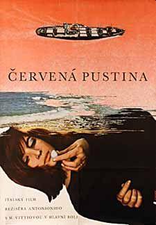 Posteritati: RED DESERT (Deserto rosso) 1967 Czech 11x16